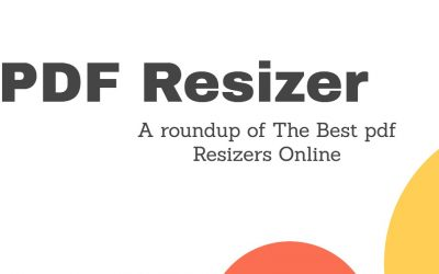 PDF Resizer – Roundup of The Best pdf Resizers Online