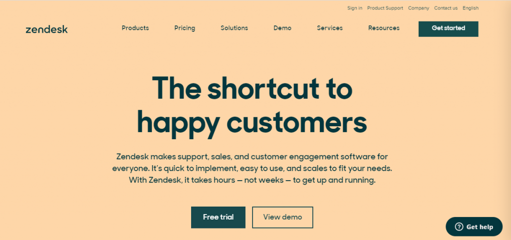 Digital marketing tools-Zendesk